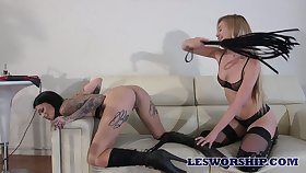 Twosome killing hot lesbians enjoy fucking each others wet plus sex-starved cunts