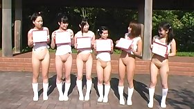 Bottomless Japanese Girls Do Some Not on Sports