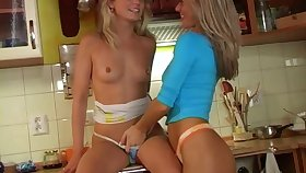 Hot lesbian action with naughty nice pain in the neck porn hotties