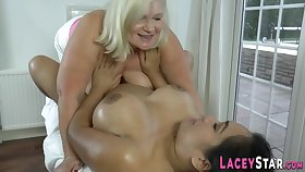 Elder british whore fingering chubby latina lady